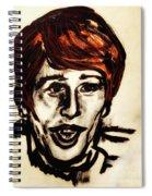 Georgie Fame Portrait Spiral Notebook