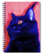 Gepetto The Cat Godzilla Spiral Notebook