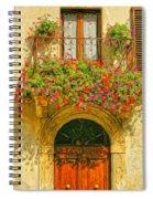 Gerani Coloriti Spiral Notebook