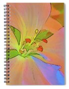 Geranium In Color Spiral Notebook