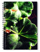 Geranium Leaves Spiral Notebook