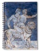 Gericault: Bacchus & Ariadne Spiral Notebook