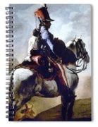 Gericault: Trumpeter, 1814 Spiral Notebook