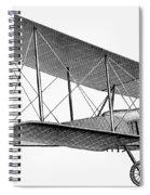 German Airplane, 1913 Spiral Notebook