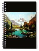German Alps Spiral Notebook