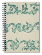 German Arabesque  Spiral Notebook