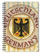 German Coat Of Arms Spiral Notebook