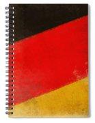 German Flag Spiral Notebook