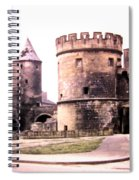 German Gate In Metz 1955 Spiral Notebook