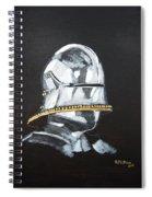 German Helmet Spiral Notebook