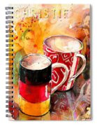 German Mugs And Christie Spiral Notebook