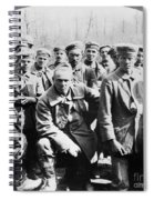German Prisoners Of War Spiral Notebook