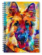 German Shepherd 6 Spiral Notebook