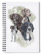 German Shorted-haired Pointer Revamp Spiral Notebook