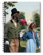 German Shorthaired Pointer - Kurzhaar Art Canvas Print - The Summer Party Spiral Notebook