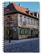 German Street Scene Spiral Notebook