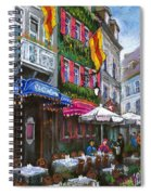 Germany Baden-baden 10 Spiral Notebook