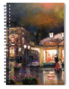 Germany Baden-baden 14 Spiral Notebook
