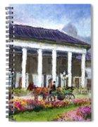 Germany Baden-baden Kurhaus Kasino Spiral Notebook