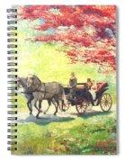 Germany Baden-baden Lichtentaler Allee Spring 2 Spiral Notebook