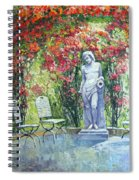 Germany Baden-baden Rosengarten 02 Spiral Notebook
