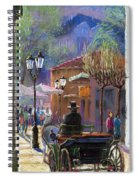 Germany Baden-baden Spring  Ray Spiral Notebook