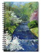 Germany Baden-baden Spring Spiral Notebook