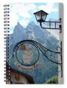 Germany - Cafe Sign Spiral Notebook