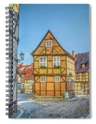 Germany - Half-timbered Houses And Alleys In Quedlinburg Spiral Notebook
