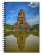 Germany - Monument To The Battle Of The Nations In Leipzig, Saxony Spiral Notebook