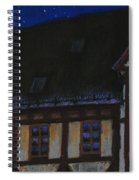 Germany Ulm Fischer Viertel Moonroofs Spiral Notebook