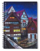 Germany Ulm Fischer Viertel Spiral Notebook