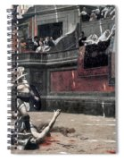 Gerome: Gladiators, 1874 Spiral Notebook