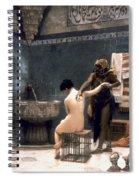 Gerome: The Bath, 1880 Spiral Notebook