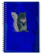 Gershwin The Cyan Squirrel Spiral Notebook