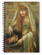 Gertrud Eysoldt As Salome Spiral Notebook
