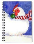 Gertrude's Scarf Spiral Notebook