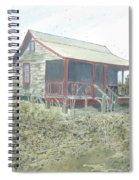 Get Away Cottage Spiral Notebook