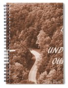 Get Lost Quote Spiral Notebook