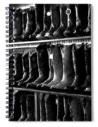 Get Me Some Boots Spiral Notebook