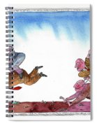 Get Ready For Corporate  Horse Racing Spiral Notebook
