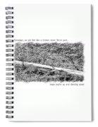 Get Well Post Spiral Notebook