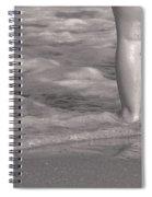 Get Your Feet Wet Spiral Notebook