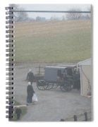 Getting Ready To Load The Buggy Spiral Notebook