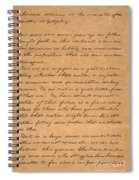 Gettysburg Address Spiral Notebook