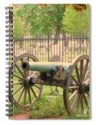 Gettysburg Cannon Cemetery Hill Spiral Notebook