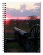 Gettysburg Cannon Spiral Notebook