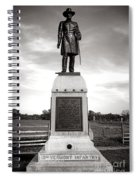 Gettysburg National Park 13th Vermont Infantry Monument Spiral Notebook