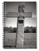 Gettysburg National Park 142nd Pennsylvania Infantry Monument Spiral Notebook