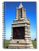 Gettysburg National Park 6th New York Cavalry Memorial Spiral Notebook